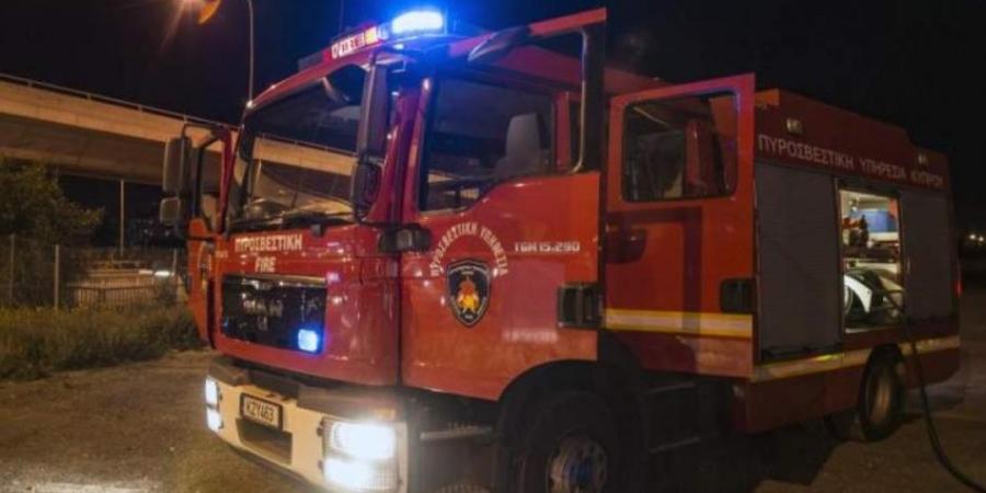 Φωτιά ξέσπασε τα μεσάνυχτα σε οικία που βρίσκεται σε χωριό της Λευκωσίας