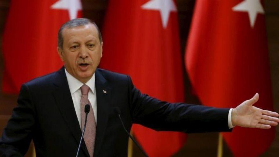 Ερντογάν: ΕΕ αν λέτε εισβολή την επιχείρησή μας θα σας στείλουμε 3,6 εκ. πρόσφυγες