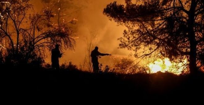 ΠΥΡΚΑΓΙΑ ΕΥΒΟΙΑ: Υπό έλεγχο τέθηκε η φωτιά σε ένα μέτωπο - Αναληθείς οι πληροφορίες για 64χρονο